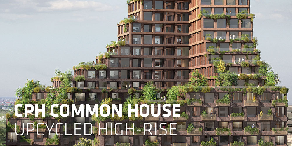 With CPH Common House we propose the world's first upcycled high-rise building