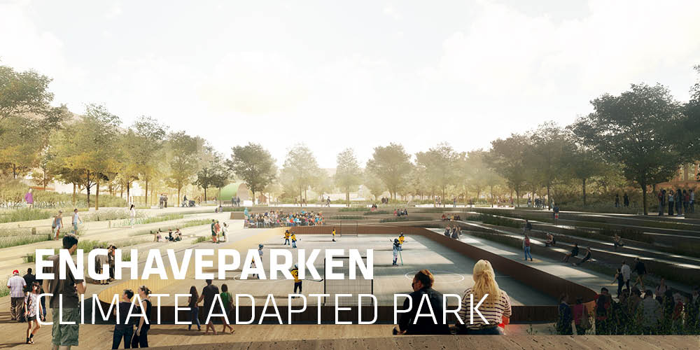 24.000 m3 of rainwater in a preserved park. Enghave Park is ready for the future.