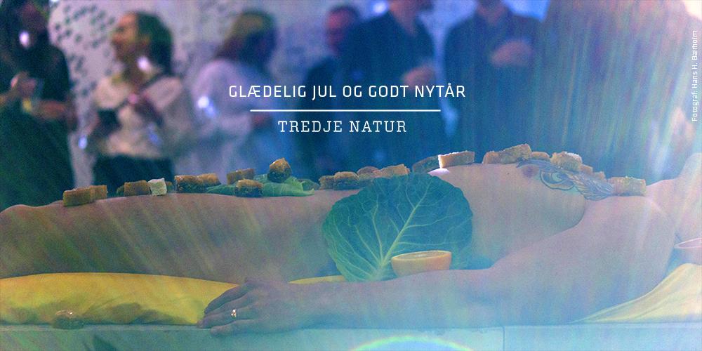 Adam & Eva på Klimaflisen. Performance til vores fest i efteråret.